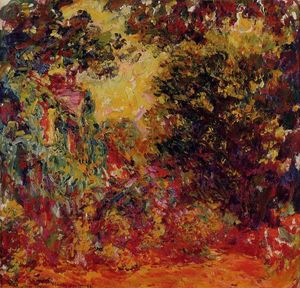 Claude Monet - The Artist-s House from the Rose Garden