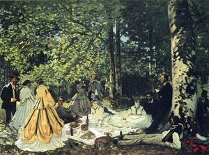 Claude Monet - Lunch on the Grass