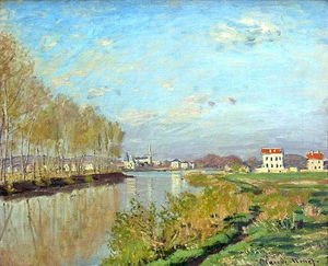 Claude Monet - Argenteuil, The Seine