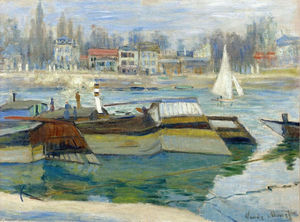 Claude Monet - The Seine at Asnieres