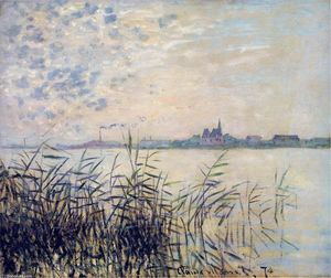 Claude Monet - The Seine near Argenteuil