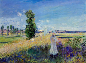 Claude Monet - The Promenade, Argenteuil
