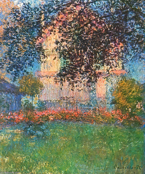 Order Reproductions | The Artist`s House in Argenteuil, 1876 by Claude Monet (1840-1926, France) | WahooArt.com