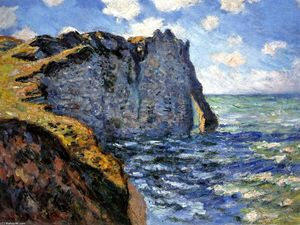 Claude Monet - The Manneport