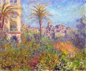Claude Monet - Villas at Bordighera 03