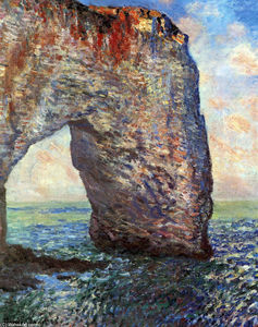 Claude Monet - The Mannerport near Etretat