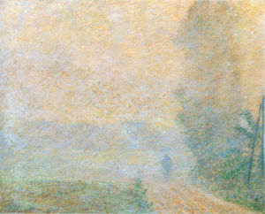 Claude Monet - Path in the Fog