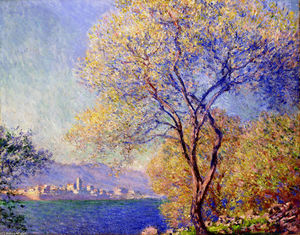 Claude Monet - Antibes Seen from the Salis Gardens 01