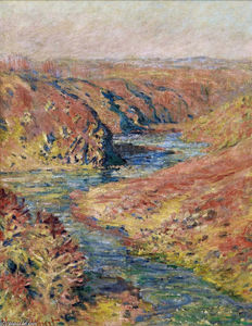 Claude Monet - The Valley of Creuse at Fresselines