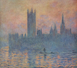 Claude Monet - Houses of Parliament in Winter