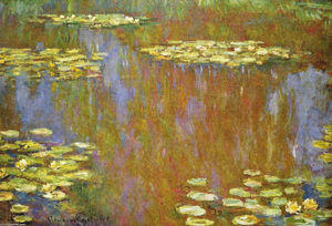 Claude Monet - Water Lilies (15)