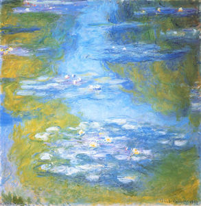 Claude Monet - Water Lilies (23)