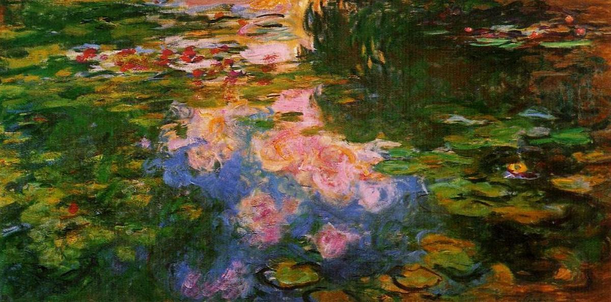 claude monet water lilies essay