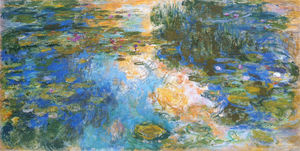 Claude Monet - Water Lily Pond (9)