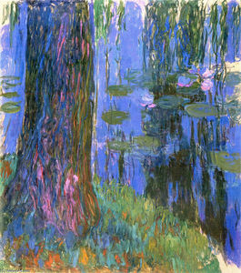 Claude Monet - Weeping Willow and Water-Lily Pond