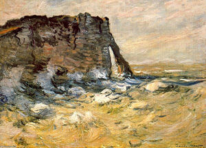 Claude Monet - Port d`Aval