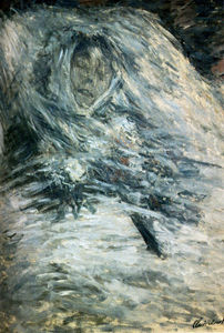 Claude Monet - Camille Monet On Her Deathbed - (Famous paintings reproduction)