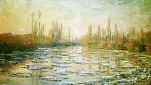 Claude Monet - The Ice Floes