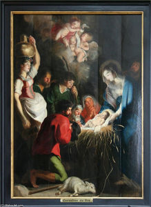 Cornelis De Vos - The Birth of Jesus