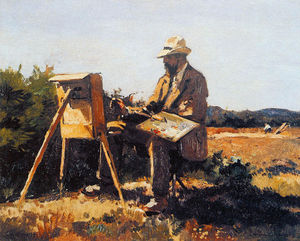 Cornelis Vreedenburgh - Painter Jan Bakker At Work