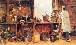 Cornelis Vreedenburgh - Painter-s Workshop