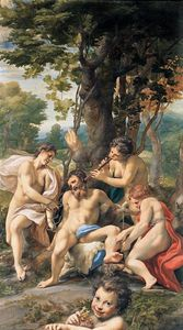 Antonio Allegri Da Correggio - Allegory of the Vices