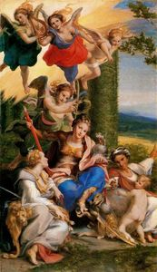 Antonio Allegri Da Correggio - Allegory of the Virtues
