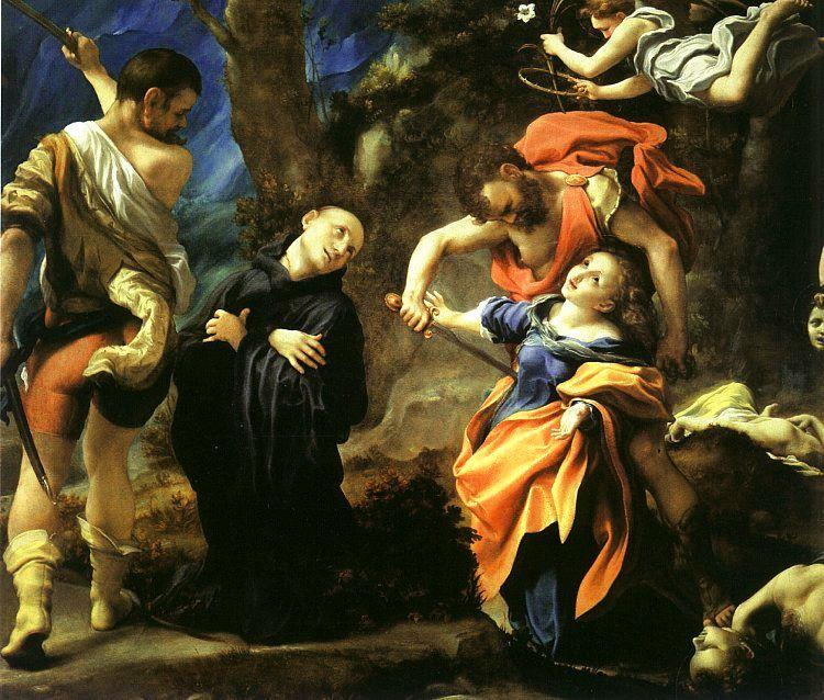 Martyrdom of Four Saints, 1520 by Antonio Allegri Da Correggio (1489-1534, Italy) | WahooArt.com