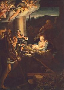 Antonio Allegri Da Correggio - Adoration of the Shepherds (The Holy Night)
