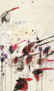 Cy Twombly - Four Seasons, Autumn Part III