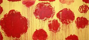 Cy Twombly - Untitled (Peonias series)