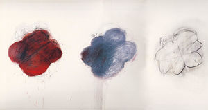 Cy Twombly - Fifty Days at Iliam. Shades of Achilles, Patroclus, and Hector