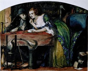 Dante Gabriel Rossetti - The Laboratory