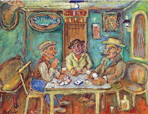 David Burliuk - Playing Cards