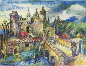 David Davidovich Burliuk - English Castle
