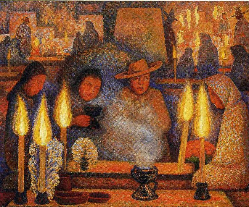 The Day of the Dead, 1944 by Diego Rivera (1886-1957, Mexico) | Art Reproduction | WahooArt.com