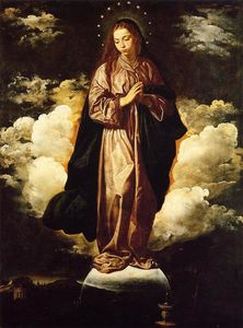 Diego Velazquez - The Immaculate Conception