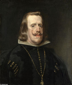 Diego Velazquez - Portrait of Philip IV of Spain