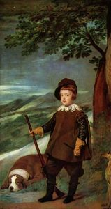 Diego Velazquez - Prince Balthasar Carlos dressed as a Hunter