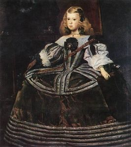 Diego Velazquez - Portrait of the Infanta Margarita