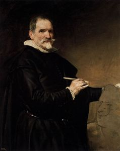 Diego Velazquez - Portrait of the Sculptor, Juan Martinez Montanes