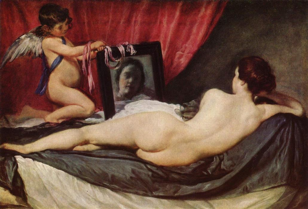 The Rokeby Venus, Oil On Canvas by Diego Velazquez (1599-1660, Spain)