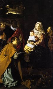 Diego Velazquez - Adoration of the Kings