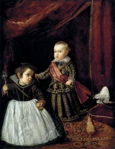 Diego Velazquez - Don Baltasar Carlos with a Dwarf
