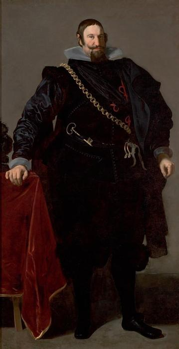 Order Museum Quality Copies | Portrait of the Count Duke of Olivares, 1624 by Diego Velazquez (1599-1660, Spain) | WahooArt.com
