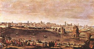 Diego Velazquez - View of Zaragoza