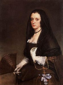 Diego Velazquez - The Lady with a Fan