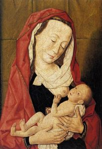 Dierec Bouts - Virgin and Child