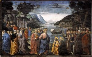 Domenico Ghirlandaio - The Calling of St. Peter and St. Andrew