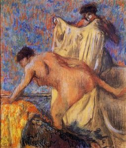 Edgar Degas - Woman Leaving Her Bath